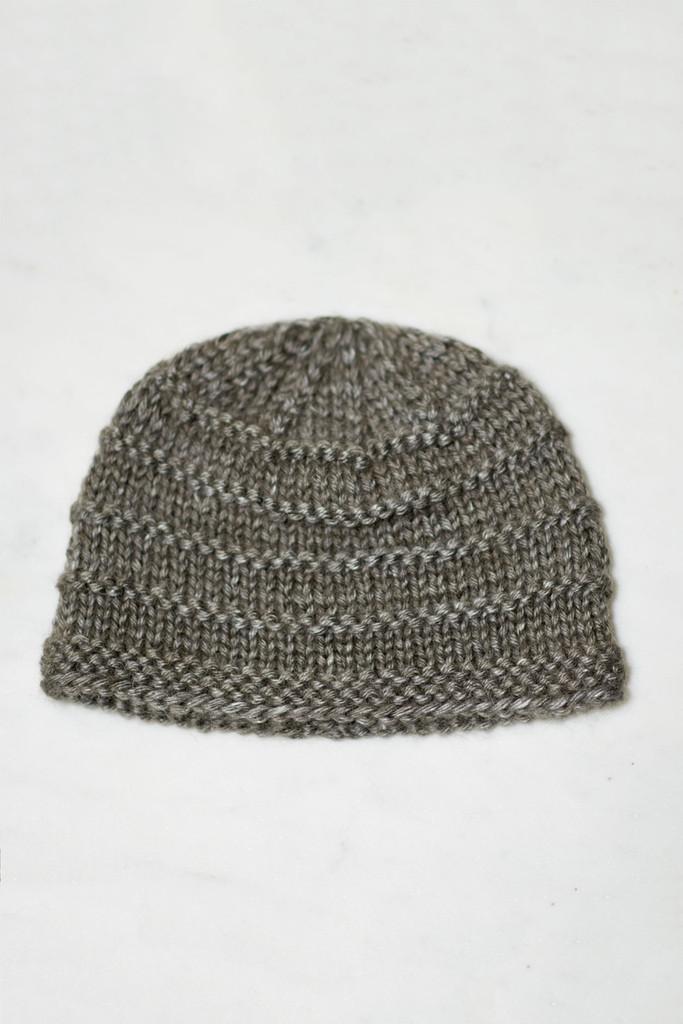 Free Knitted Baby Hat Pattern In Soft Alpacasilk Yarn