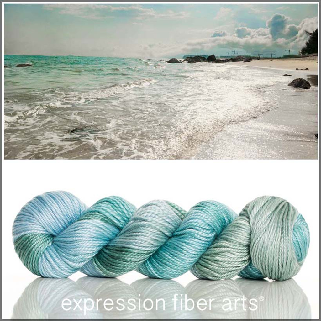 SEA BREEZE 'LUSTER' WORSTED