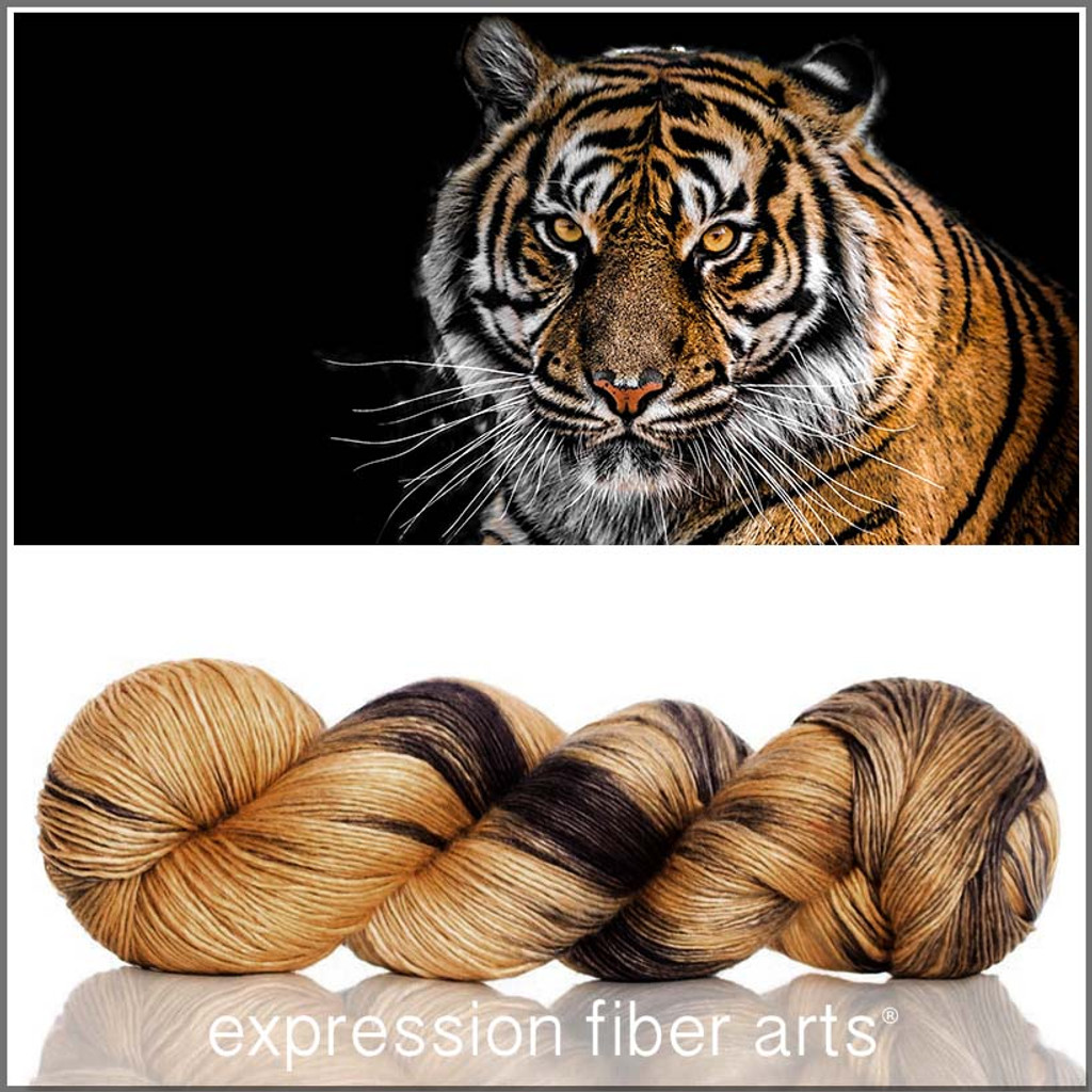Eye Of The Tiger Pics eye of the tiger superwash merino silk pearlescent fingering yarn