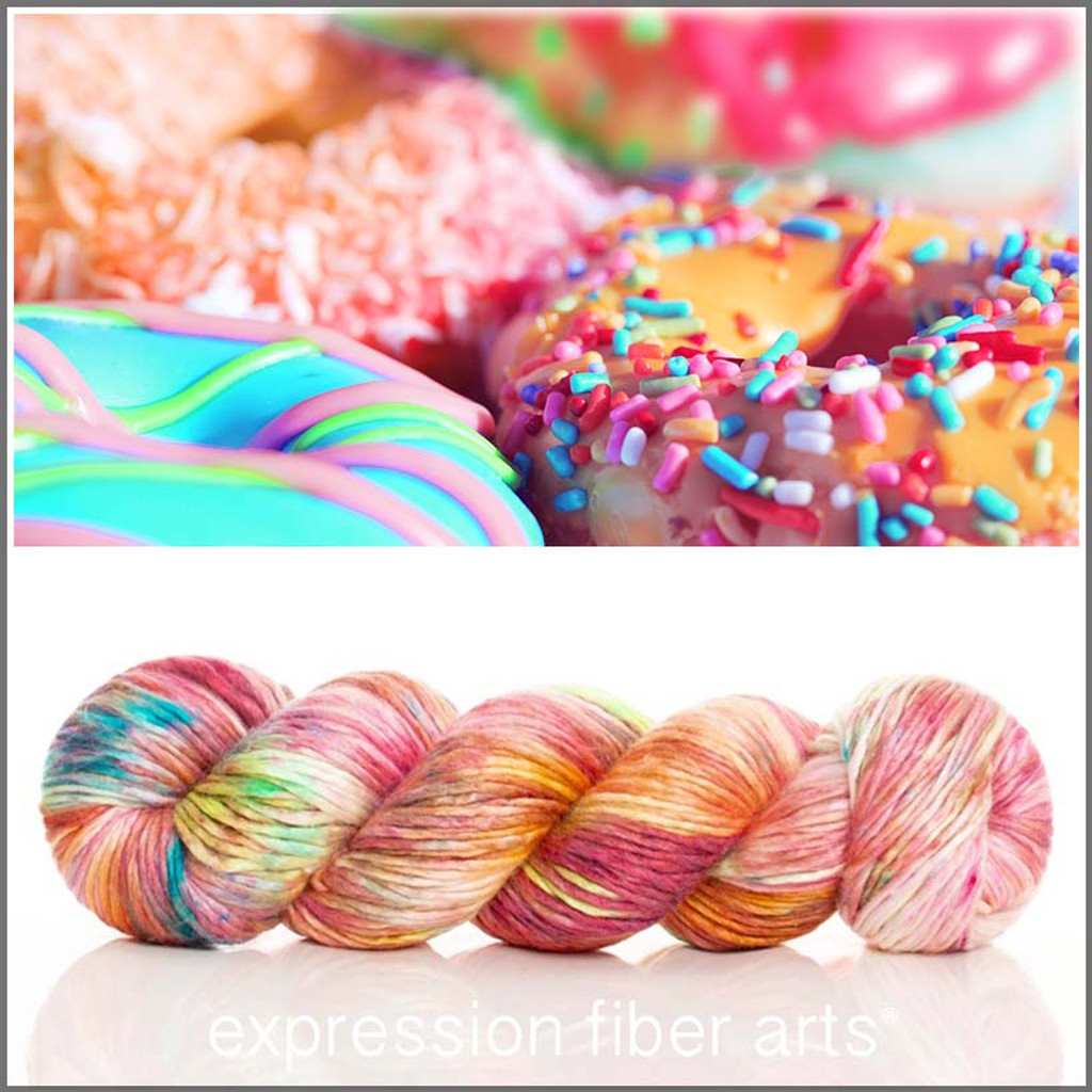 DONUTS 'PEARLESCENT' WORSTED