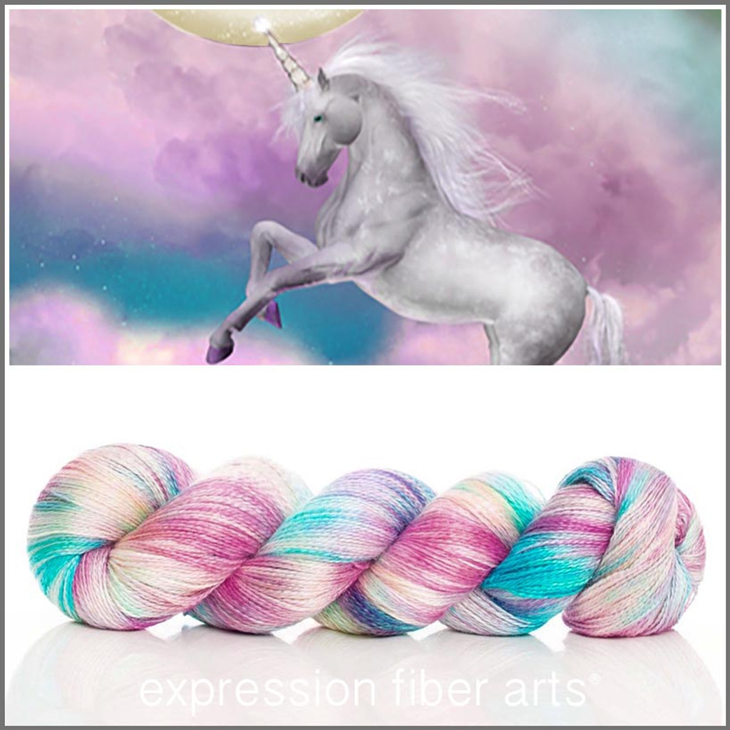 UNICORN SPRINKLES ALPACA SILK LACE