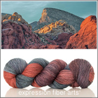 RED ROCK SUNSET 'RESILIENT' SOCK