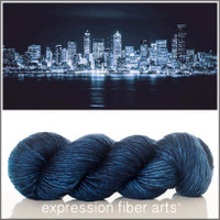 SEATTLE AT NIGHT 'PEARLESCENT' WORSTED