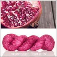 POMEGRANATE SUPERWASH MERINO SILK PEARLESCENT WORSTED