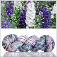 JULY LARKSPUR 'PEARLESCENT' WORSTED