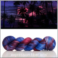 PACIFIC PALMS Limited Edition 'PEARLESCENT' FINGERING 100g