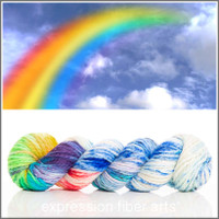 RAINBOW IN THE CLOUDS 'BUTTERY' BULKY