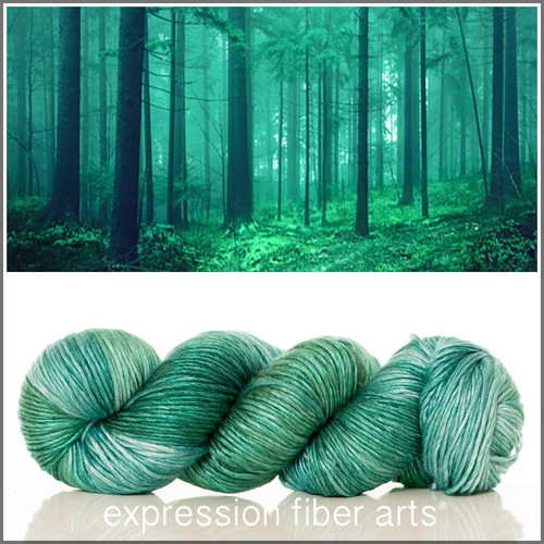 FAIRY TALE FOREST 'PEARLESCENT' WORSTED