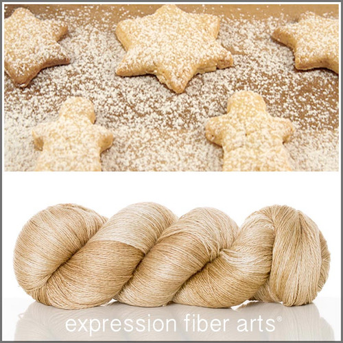 POWDERED SUGAR COOKIES YAK SILK LACE