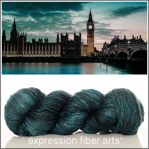 LONDON AT NIGHT 'PEARLESCENT' WORSTED