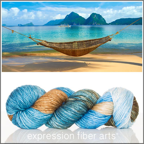 BEACH HAMMOCK 'PEARLESCENT' WORSTED