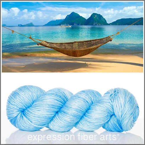 ISLAND SKY 'PEARLESCENT' WORSTED