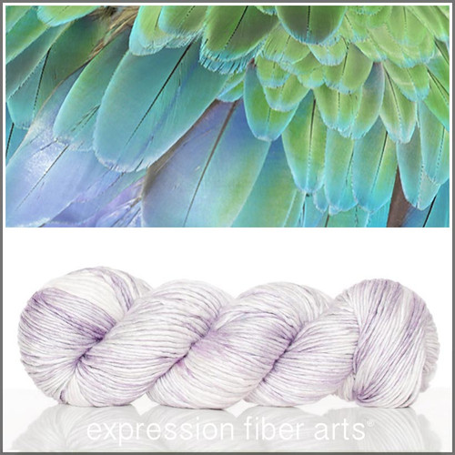 FLINT FEATHER TEXTURE 'PEARLESCENT' WORSTED