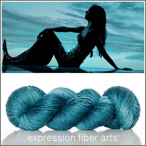 MERMAID HARBOR  'PEARLESCENT' WORSTED