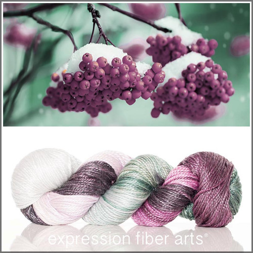 WINTER BERRIES 'LUSTER' WORSTED