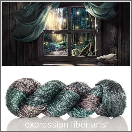 READING NOOK 'LUSTER' WORSTED