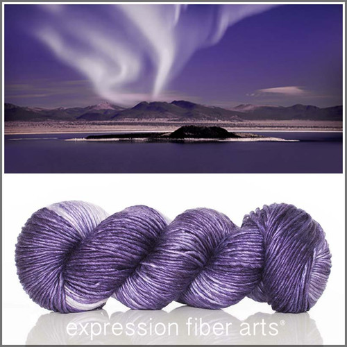 NIGHT AURORAS 'PEARLESCENT' WORSTED
