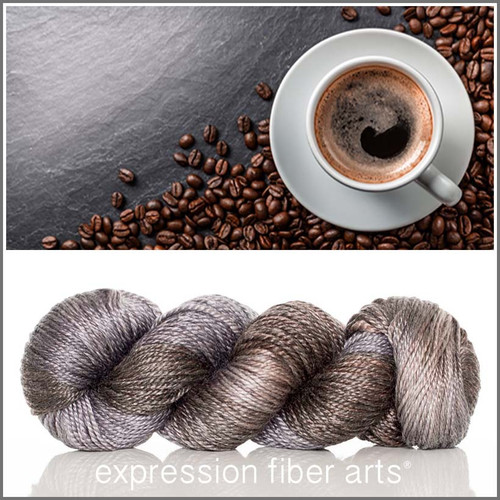 DARK ROAST 'LUSTER' WORSTED