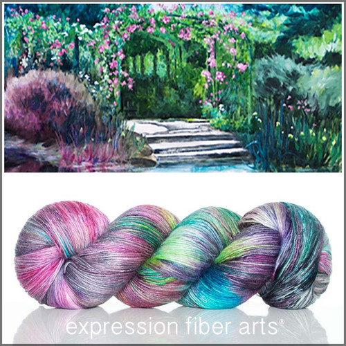 GIVERNY 'PEARLESCENT' FINGERING
