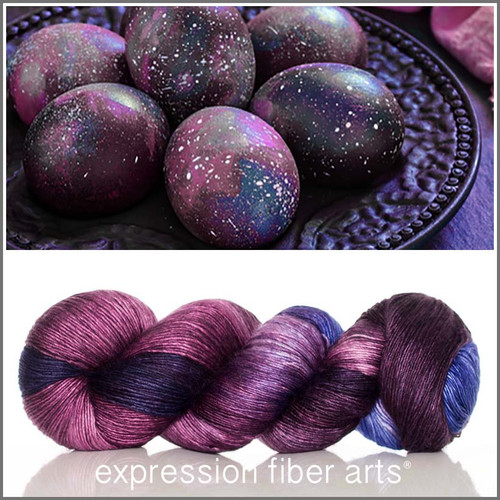 GALAXY EGGS 'PEARLESCENT' FINGERING