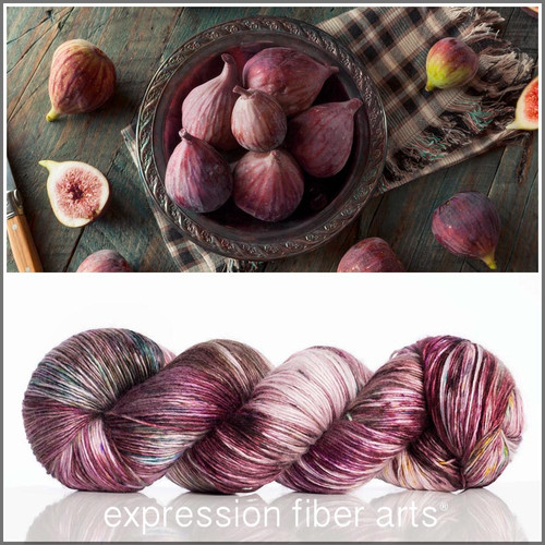 ORGANIC FIG 'PEARLESCENT' FINGERING