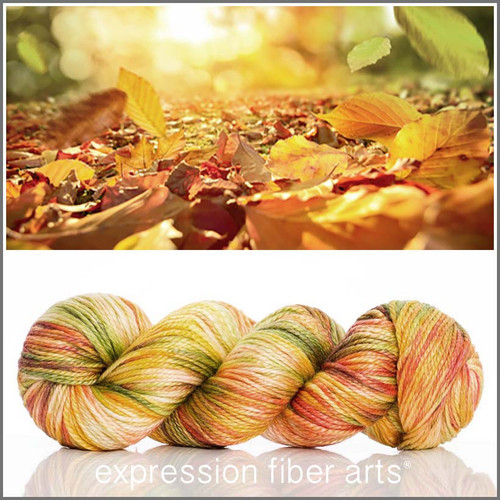 FALLING LEAVES 'LUSTER' WORSTED