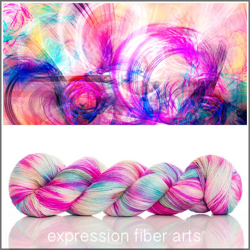 PSYCHEDELIC YAK SILK LACE