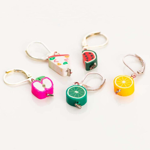 Fruit 5-Pack Opening Stitch Markers