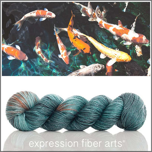 KOI POND 'LUSTER' WORSTED