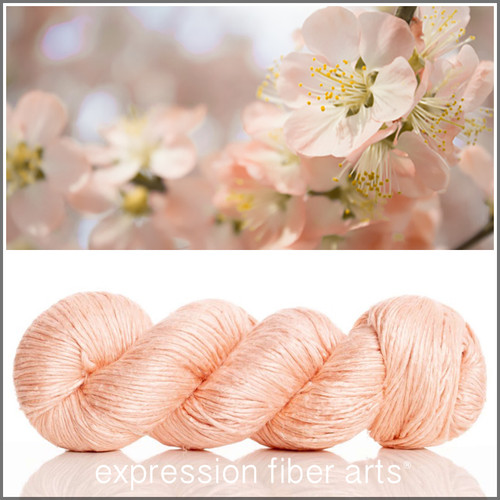 PEACH ORCHARD 'ZANE' SILK WORSTED