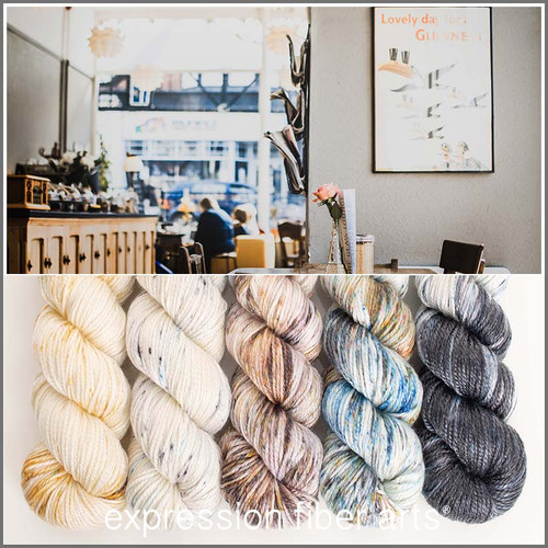 COFFEE SHOP HUES 'LUSTER' WORSTED KIT