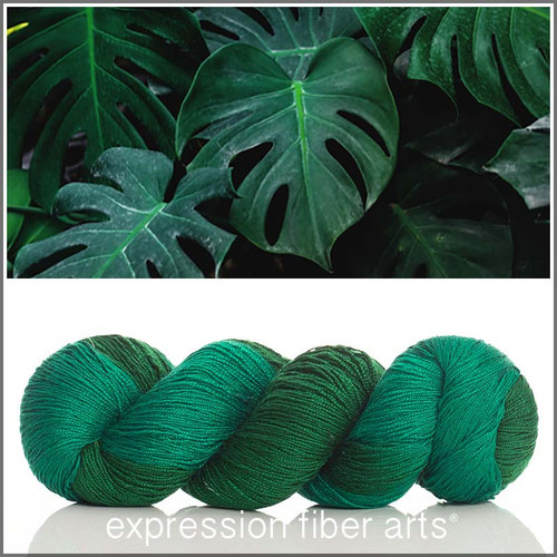 GO GREEN ASHA SILK LACE