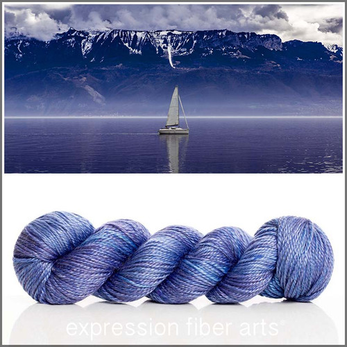 OVERCAST 'LUSTER'  WORSTED