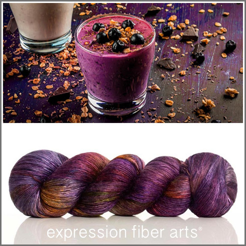 SMOOTH-E Limited Edition 'PEARLESCENT' FINGERING 100g + Seed Beads