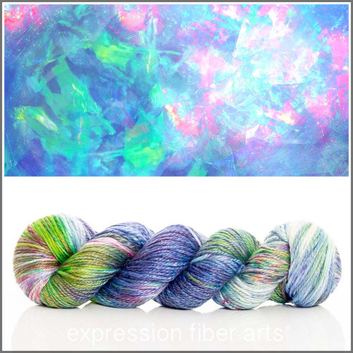OCTOBER OPAL 'LUSTER' WORSTED