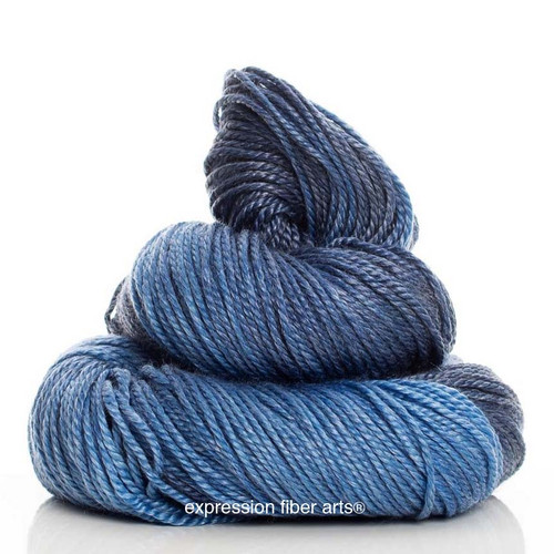 MIDNIGHT MAISY 'LUSTER' WORSTED