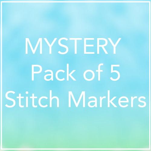 Mystery Pack of 5 Stitch Markers