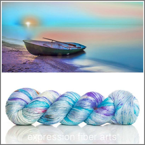 FISHING BOAT Limited Edition 'PEARLESCENT' FINGERING 100g