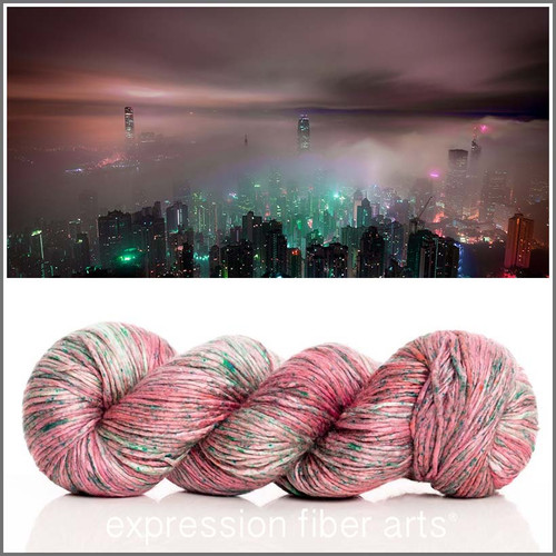 MIST IN THE CITY 'ZANE' SILK WORSTED
