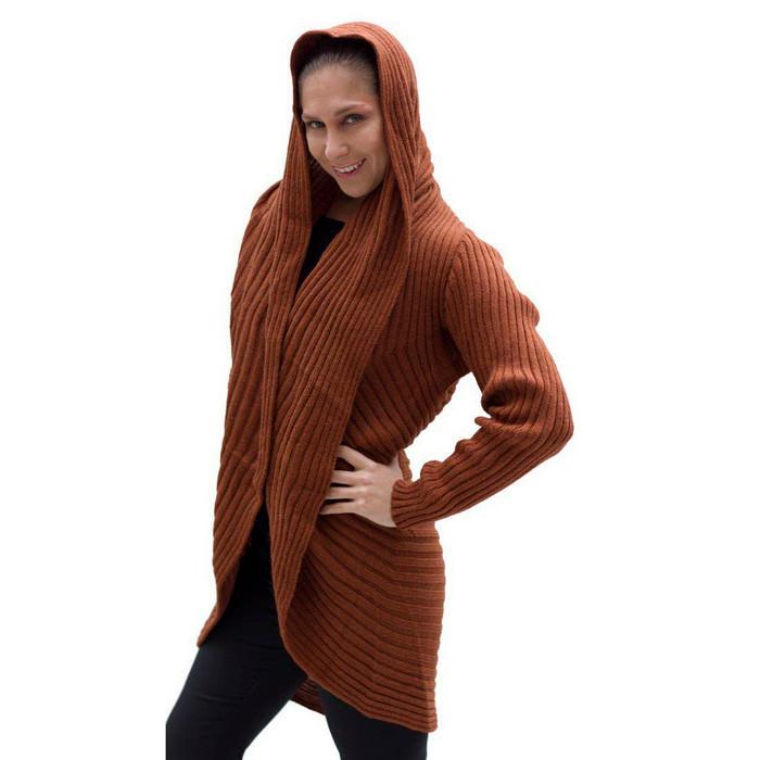 Alpaca Wool Coat Copper SZ L