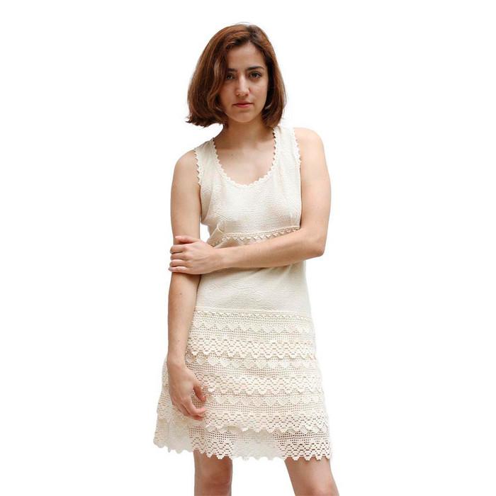 Womens 100% Pima Cotton Summer Dress Size L (53D-013-00004L)