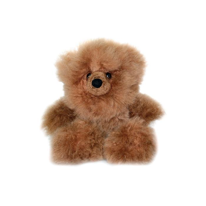 "Superfine 100% Baby Alpaca Fur Stuffed Artist Teddy Bear 10"" (22-012-03450)"