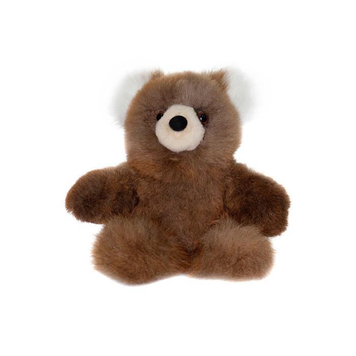 "Superfine 100% Baby Alpaca Fur Stuffed Artist Teddy Bear 10"" (22-014-03451)"