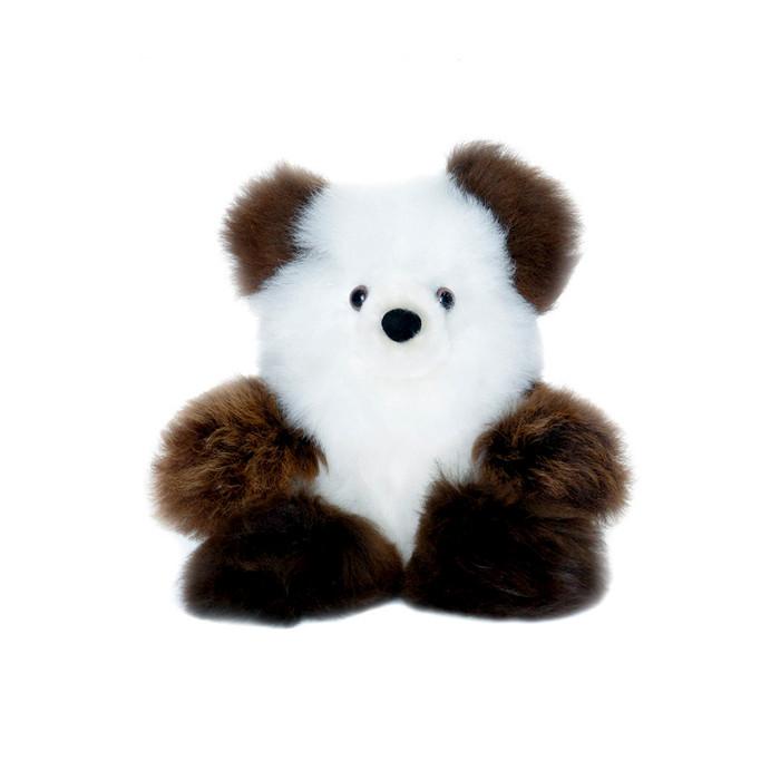 "Superfine 100% Baby Alpaca Fur Stuffed Artist Teddy Bear 10"" (22-100-03453)"