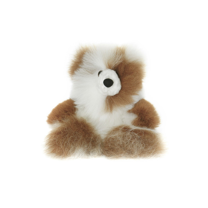 "Superfine 100% Baby Alpaca Fur Stuffed Artist Teddy Bear 10"" (22-100-03455)"