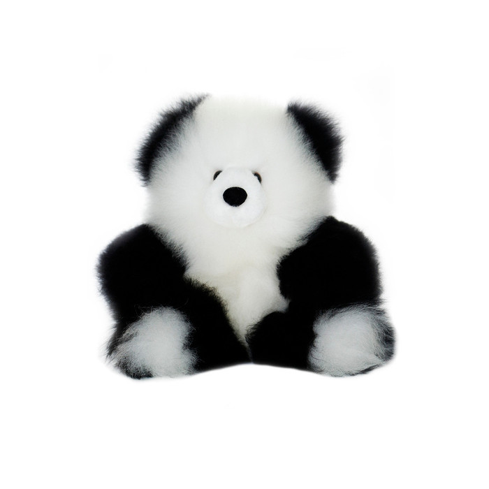 "Superfine 100% Baby Alpaca Fur Stuffed Artist Teddy Bear 10"" (22B-100-022-0005)"