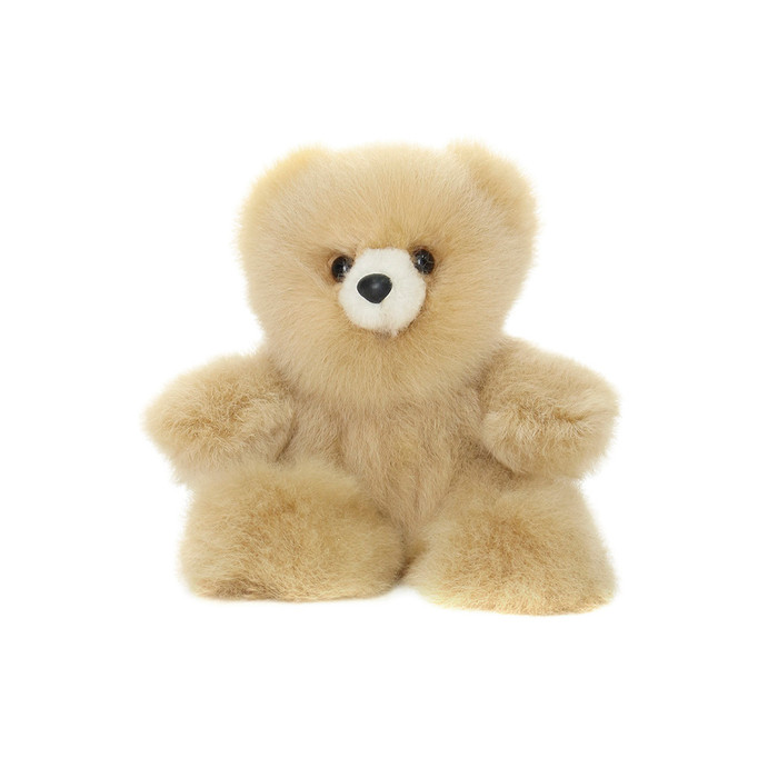 "Superfine 100% Baby Alpaca Fur Stuffed Artist Teddy Bear 7"" (24-001-00106)"