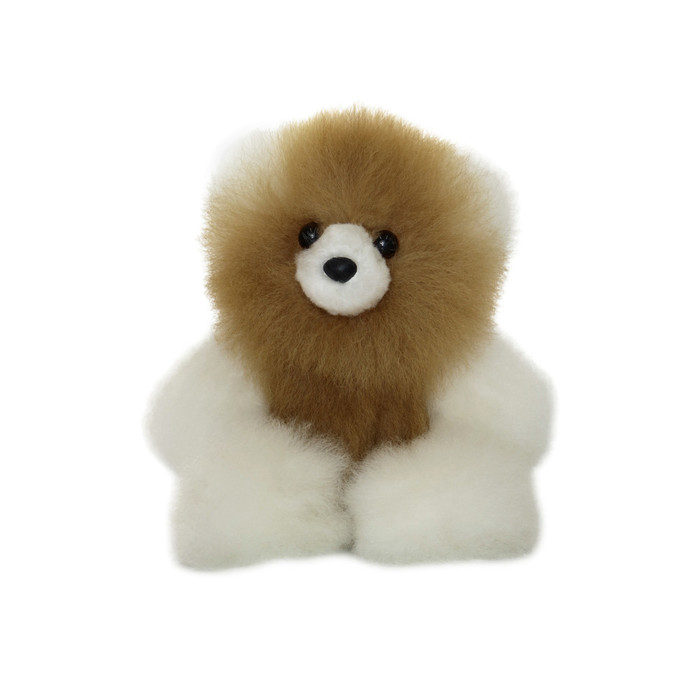 "Superfine 100% Baby Alpaca Fur Stuffed Artist Teddy Bear 7"" (24D-100-024-0001)"