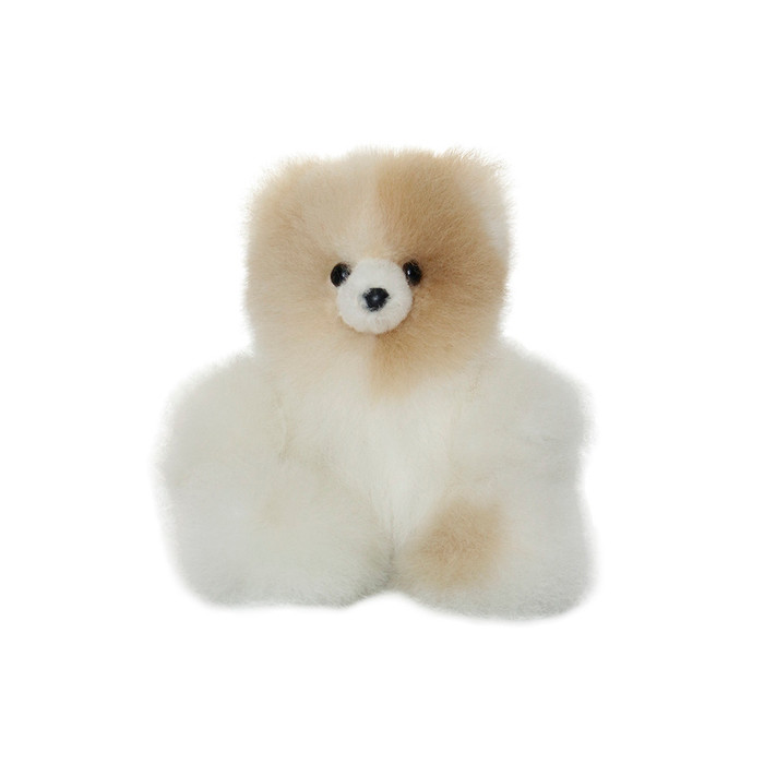 "Superfine 100% Baby Alpaca Fur Stuffed Artist Teddy Bear 7"" (24D-100-024-0002)"