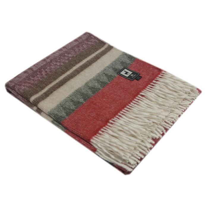 Special Alpaca Wool Cherokee Style Blanket Throw